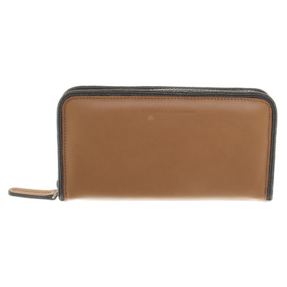 Brunello Cucinelli Wallet in ocher
