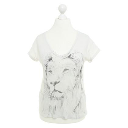 Set T-shirt with lion print