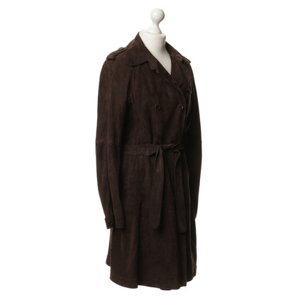 Hugo Boss Trench coat of suede leather
