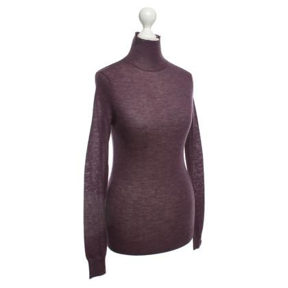 Joseph Cashmere sweater in purple