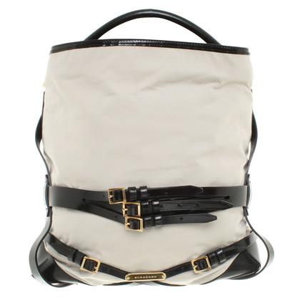 Burberry Large handbag in beige / black