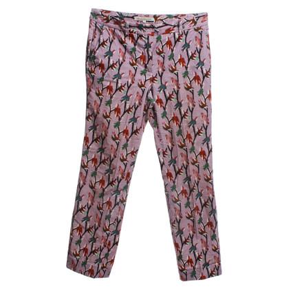 L'autre Chose trousers of velvet