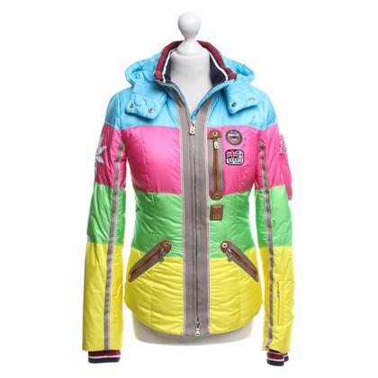 Bogner Jacke in Neon-Farben