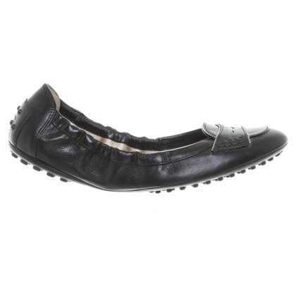 Tod's Ballerinas in black leather