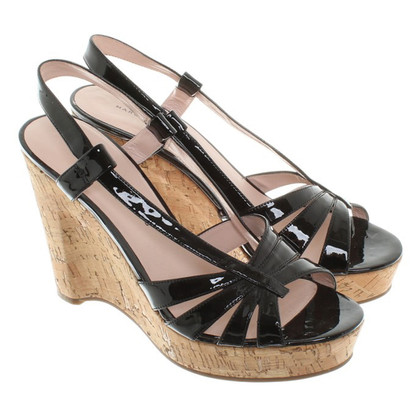 Marc by Marc Jacobs Slingback peep toes Wedges