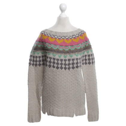 Twin-Set Simona Barbieri Knitted sweater with striped pattern
