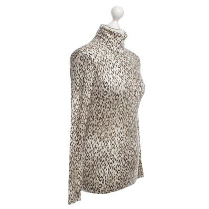 Marc Cain Turtleneck with animal print