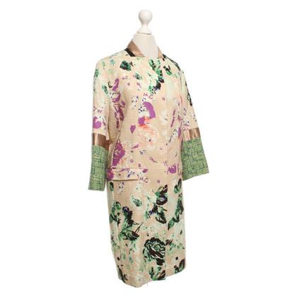 Etro Mantel mit floralem Muster