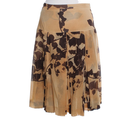 René Lezard skirt with pattern