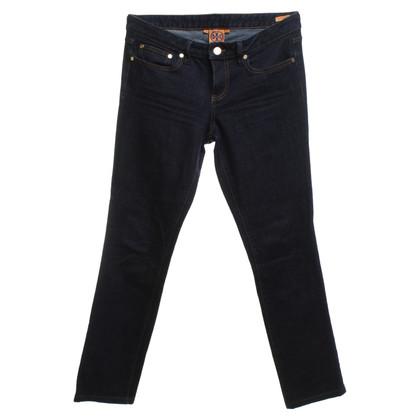 Tory Burch Jeans in blu scuro