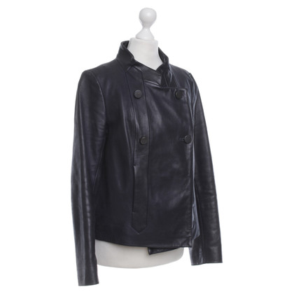 Chloé Leather Jacket in Anthracite