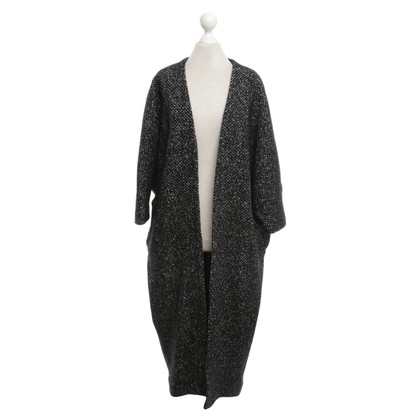 French Connection Knitted coat with pattern