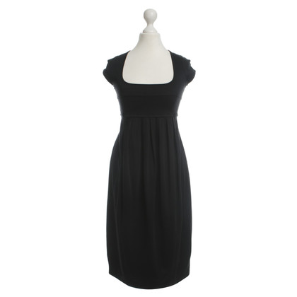Plein Sud Schwarzes Kleid mit Falten