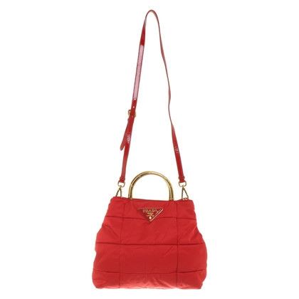 Prada Handbag in red
