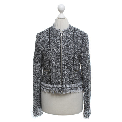 Karl Lagerfeld Jacket in zwart / White