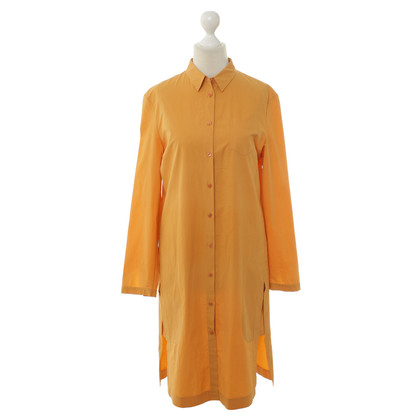 Jil Sander Hemdkleid in hellem Orange