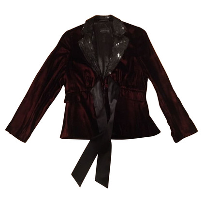 Rena Lange Velvet blazer with sequins
