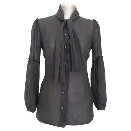 Hugo Boss Blouse with scarf collar