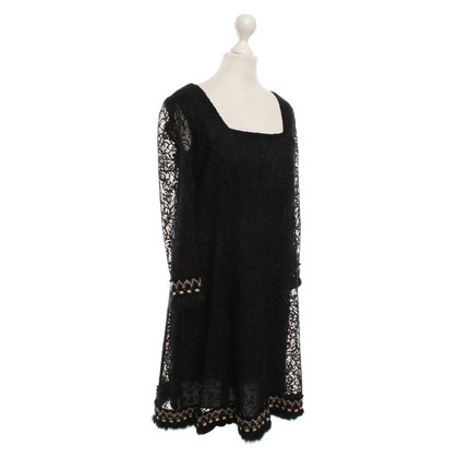 Anna Sui Lace dress in black