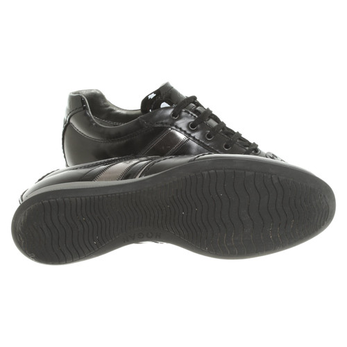 e76813253ca Hogan Trainers Leather in Black - Second Hand Hogan Trainers Leather ...