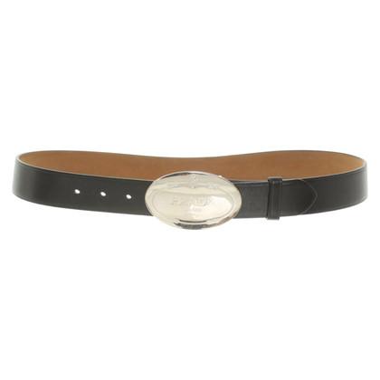 Prada Cintura con fibbia logo