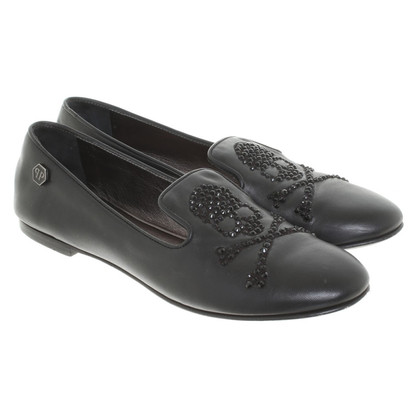 Philipp Plein Loafer in Schwarz