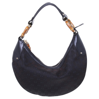 Gucci Handbag with bamboo detail
