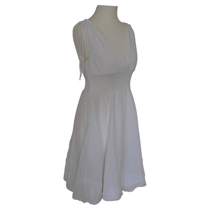 Anthropology White summer dress
