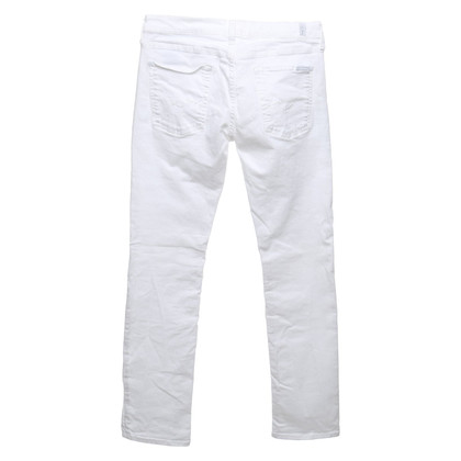 7 For All Mankind Jeans en blanc