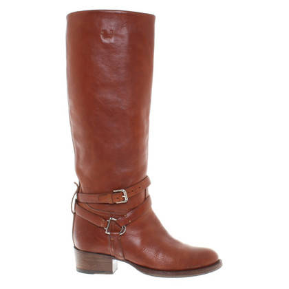 Ralph Lauren Stivali in pelle a Brown
