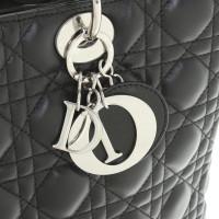 """Christian Dior """"Lady Dior"""" in black"""