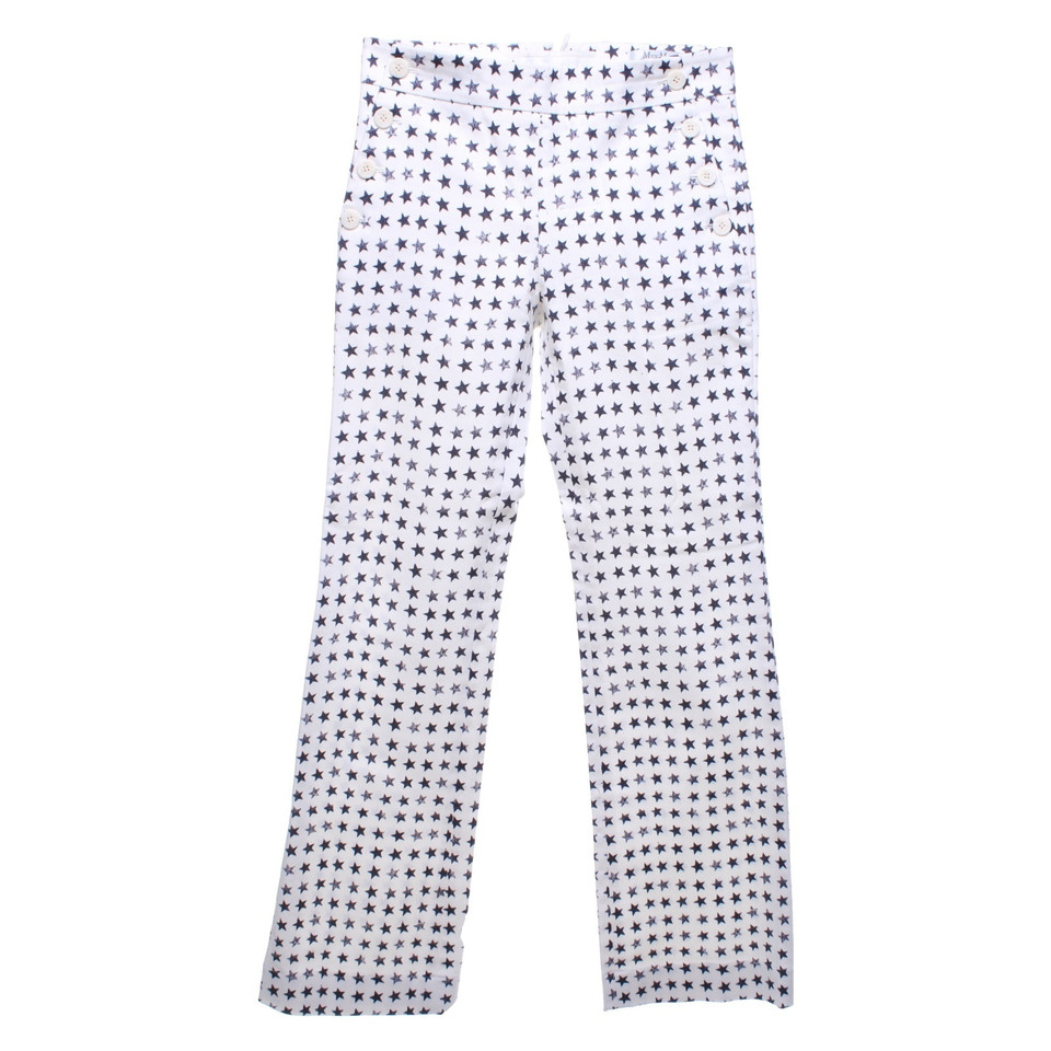 Max Mara Pantalon avec motif