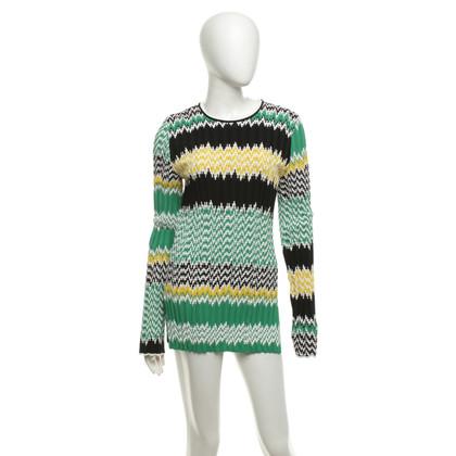 Céline Multicolored knit sweater