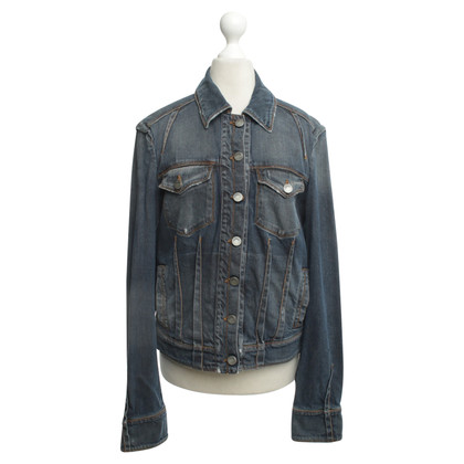 John Galliano Denim jacket in blue