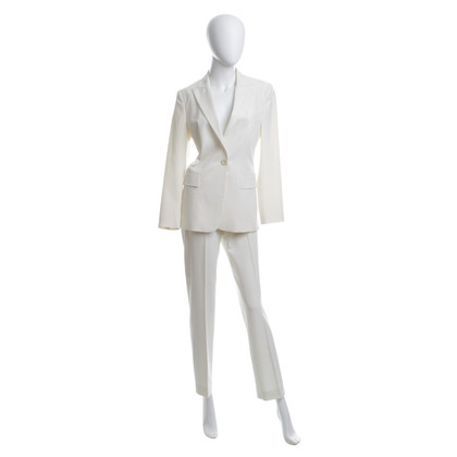 Hugo Boss Anzug in Cremeweiß