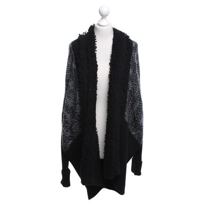 Bogner Cardigan Black / White