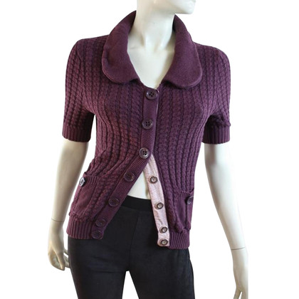 Marc by Marc Jacobs Cardigan in Lila