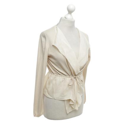 Hoss Intropia Cardigan with silk details