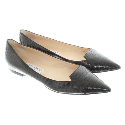 Jimmy Choo Slipper in Schwarz