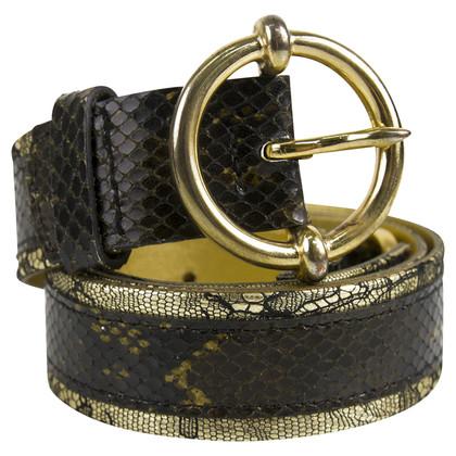 Dolce & Gabbana Leren riem