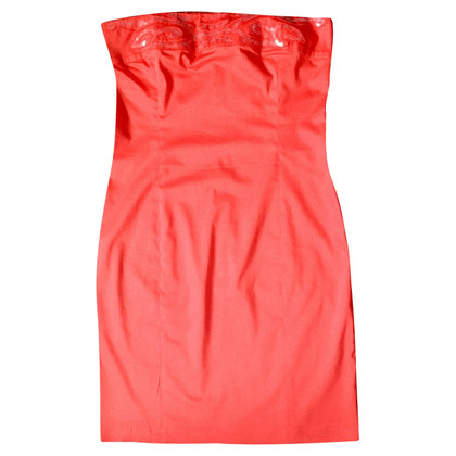 Iceberg Coral red dress