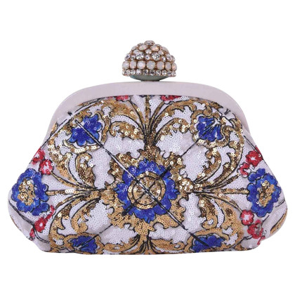 Dolce & Gabbana Clutch mit Pailletten-Stickerei