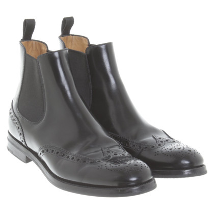 Church's Ankle boots with lace pattern