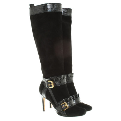 Dsquared2 Suede boots in black