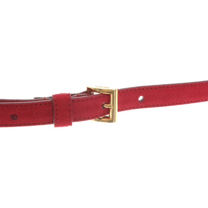 Prada Belt in red