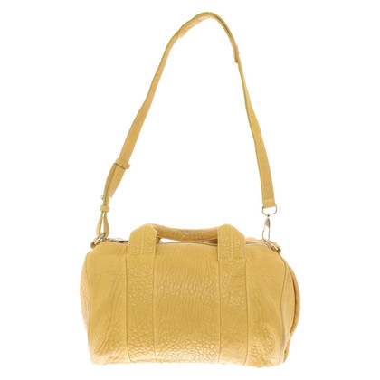 "Alexander Wang ""Rocco Bag"" in yellow"