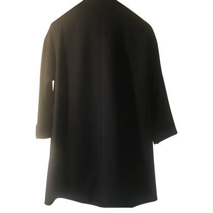 Moschino Mantel in Schwarz