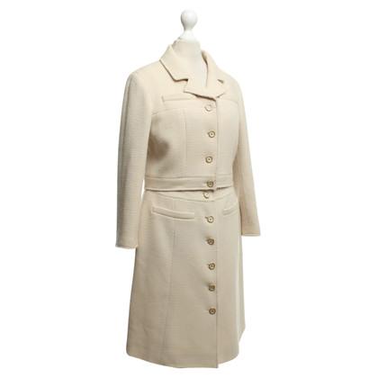 Chanel vestito bouclé in beige