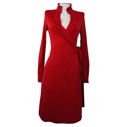 Diane von Furstenberg robe rouge