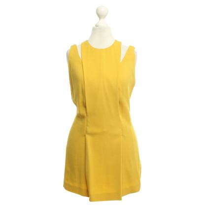 Calvin Klein haut de couleur moutarde